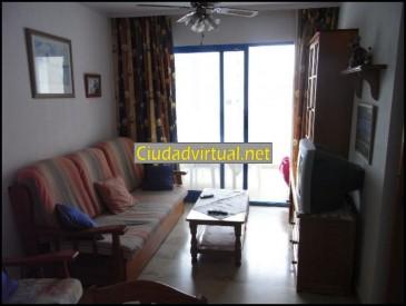 RF 510 Alquiler piso Vacacional  Benidorm, 2 habitaciones, 600€/mes