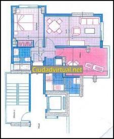 RF 527 Alquiler de piso con opción a compra en Playa de Poniente, Benidorm, 1 habitación, 800€/mes o precio a consultar para venta