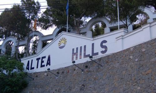 Parte alta de altea Hills